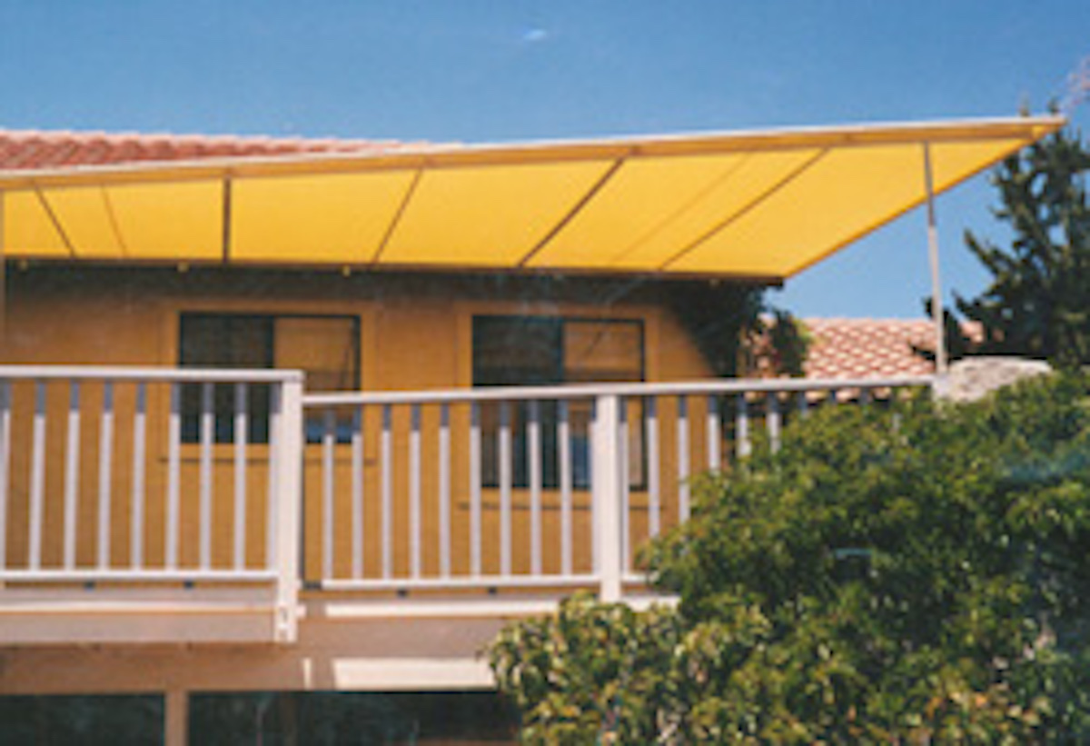 An awning installed by A Shade Beyond in Prescott AZ