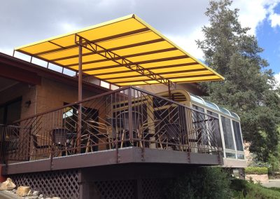 An example of a commercial patio cover